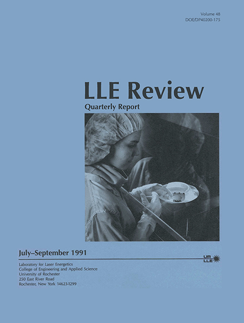 LLE Review Volume 48