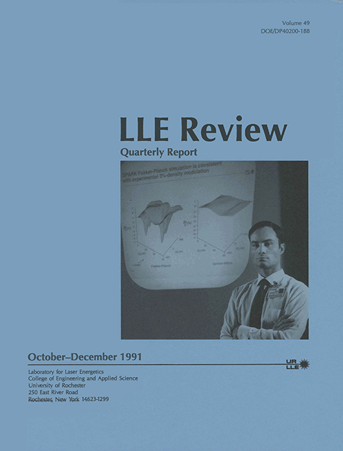 LLE Review Volume 49