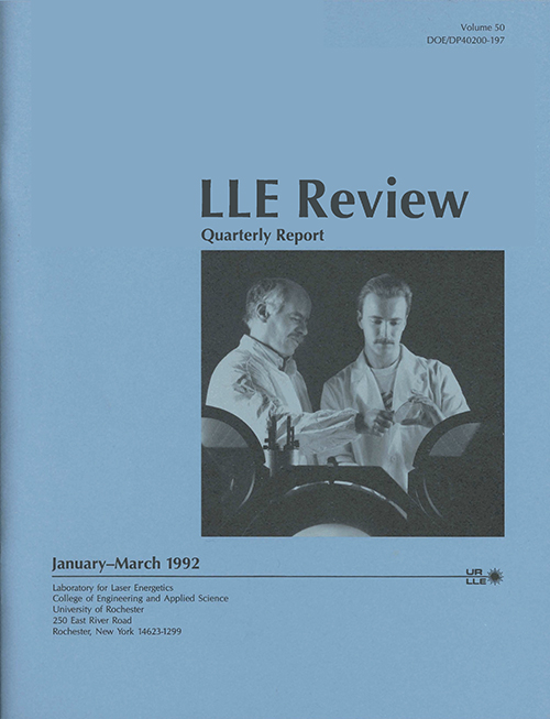 LLE Review Volume 50