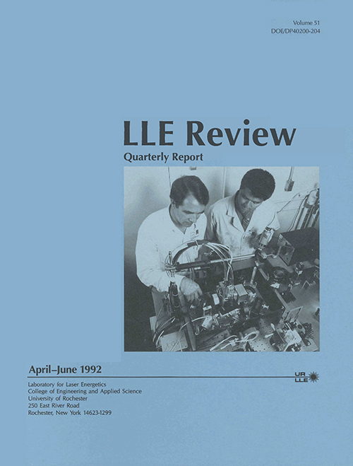LLE Review Volume 51