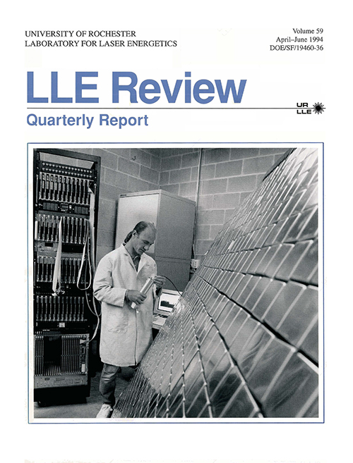 LLE Review Volume 59