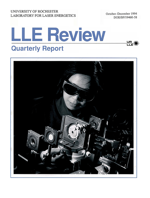 LLE Review Volume 61