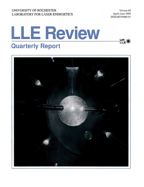 LLE Review Volume 63