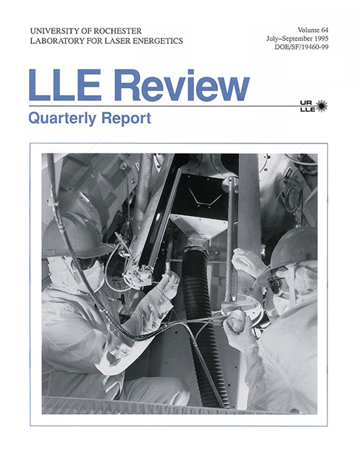 LLE Review Volume 64