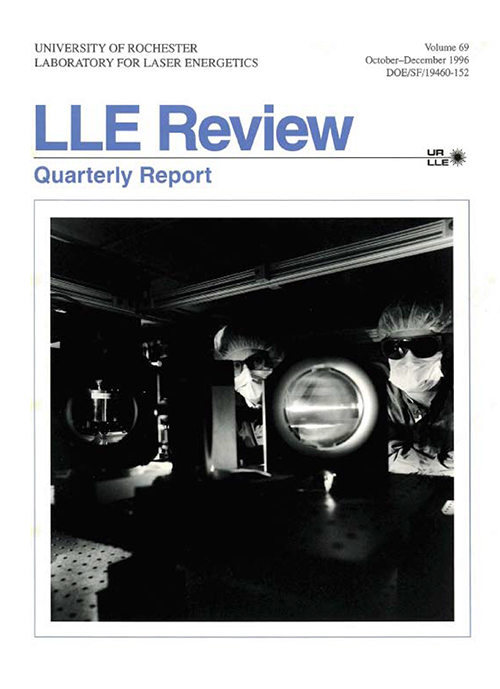 LLE Review Volume 69