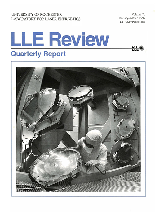 LLE Review Volume 70
