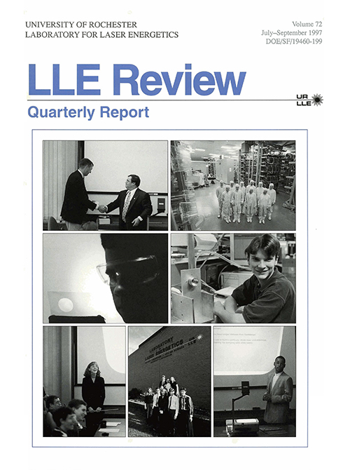 LLE Review Volume 72