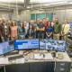 LLE support team for the First LaserNetUS Experiment at LLE and the visiting experimenters