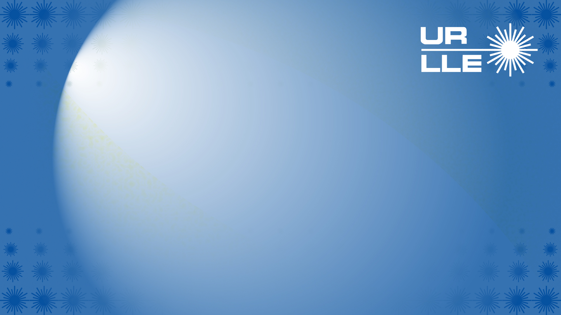 LLE Zoom background, blue with logos