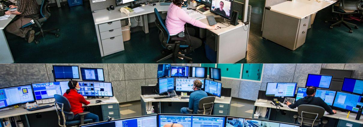 OMEGA and OMEGA EP control rooms