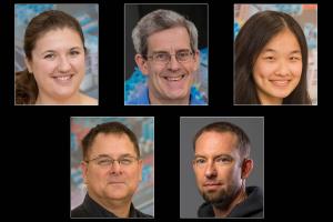 Emma Garcia, Steve Craxton, Yugia Yang, Pat McKenty, and Charles Yeamans.