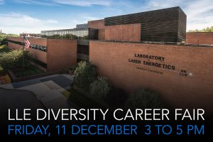 LLE Diversity Career Fair Friday, 11 December 3 to 5 PM