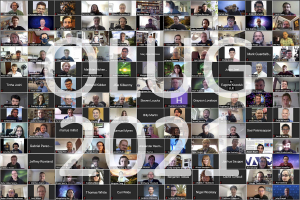 OLUG 2021 Group Photo of all the participants on Zoom.