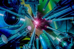Target shot on the OMEGA Laser System