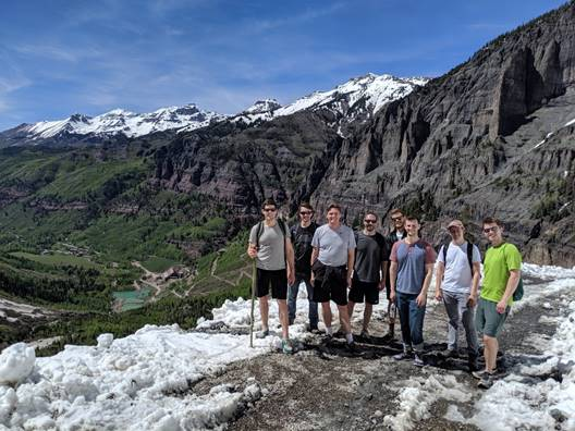 PULSE Group on a mountain