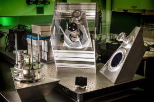 Neutron detector prototypes.